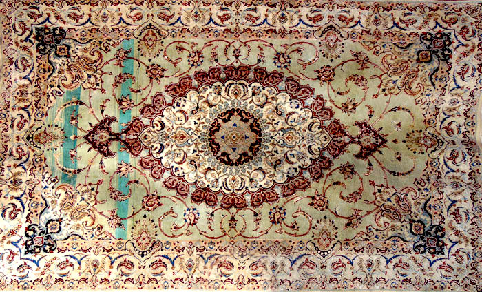 Image result for Defective of persian carpet