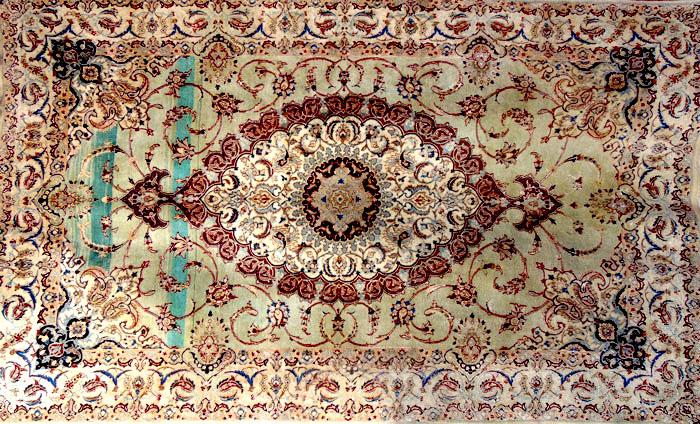 فرش ماشینی عیب های فرش دستباف