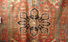 Antique Persian Serapi - Circa 1920