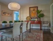 A silk rug in a room designed by Annie Elliott. Photo by Michael K. Wilkinson/The Washington Post